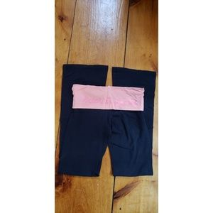 Victoria secret pink yoga pants